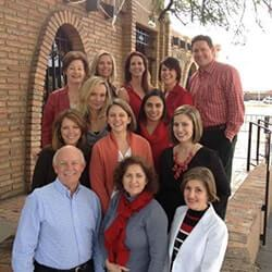 Photo of Drs Davenport & Davenport, dentists in Tucson, and their dental team